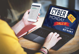 60290713 - cyber monday sale discount clearance sale concept